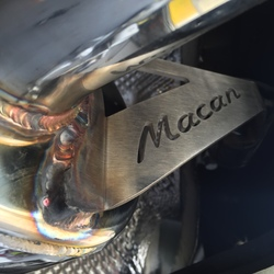 Exhaust Upgrade Macan S